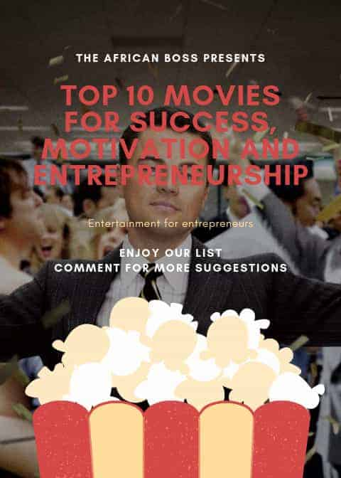 Top 10 Movies for success, motivation and entrepreneurship