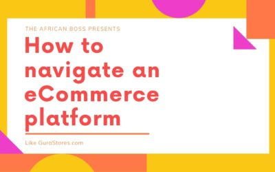 How to navigate an e-commerce platform