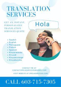 translation services flyer